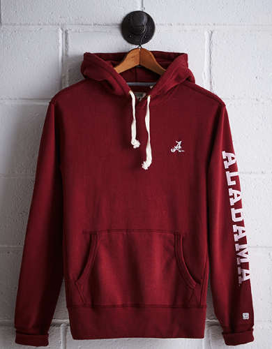 Tailgate Men's Alabama Fleece Hoodie - Free Returns