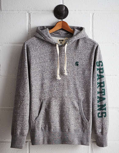 Tailgate Men's Michigan State Fleece Hoodie - Free returns