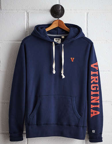 Tailgate Men's UVA Fleece Hoodie - Free returns