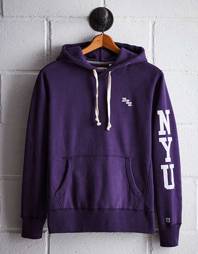 Tailgate Men's NYU Fleece Hoodie - Free Returns
