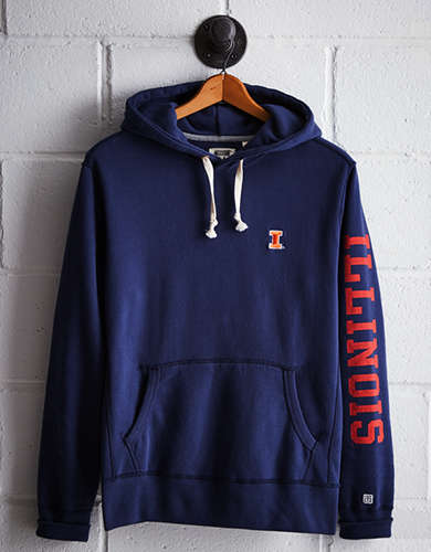 Tailgate Men's Illinois Fleece Hoodie - Free returns