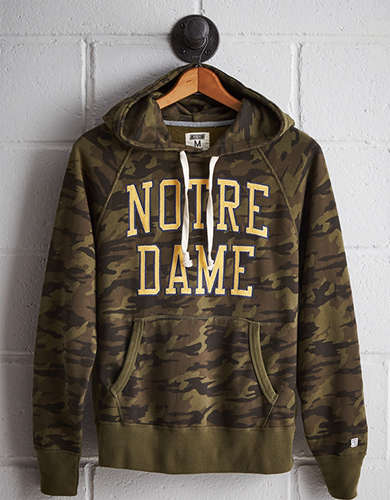 Tailgate Men's Notre Dame Camo Hoodie - Free Returns