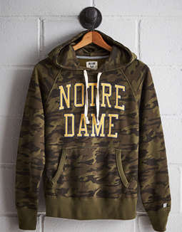 Tailgate Men's Notre Dame Camo Hoodie