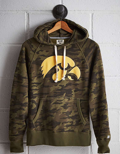 Tailgate Men's Iowa Camo Hoodie - Free returns
