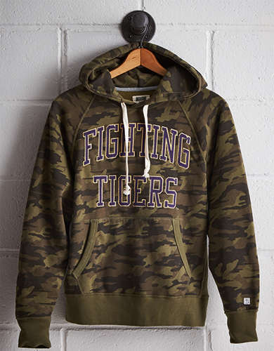 Tailgate Men's LSU Camo Hoodie - Free shipping & returns with purchase of NBA item