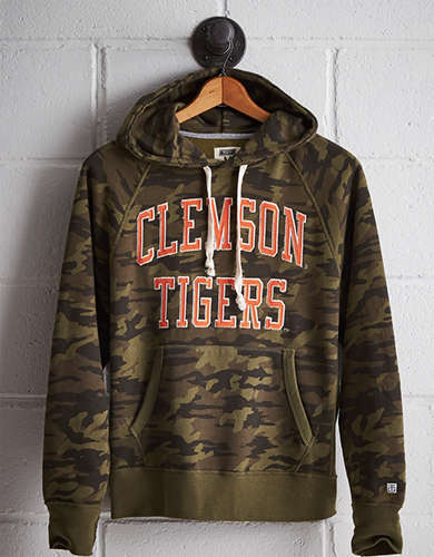 Tailgate Men's Clemson Camo Hoodie - Free Shipping + Free Returns
