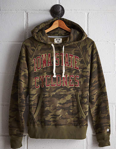 Tailgate Men's Iowa State Camo Hoodie - Free returns
