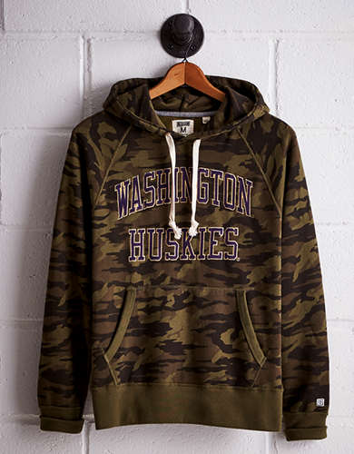 Tailgate Men's Washington Camo Hoodie - Free Returns