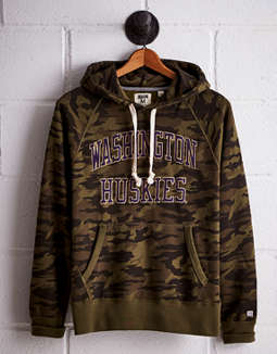 Tailgate Men's Washington Camo Hoodie