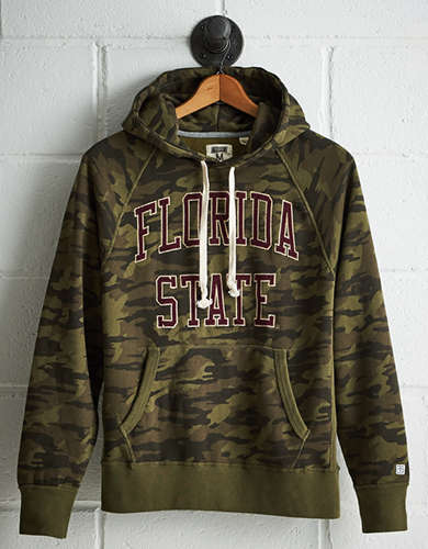 Tailgate Men's Florida State Camo Hoodie - Free Returns