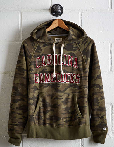 Tailgate Men's South Carolina Camo Hoodie - Free Returns
