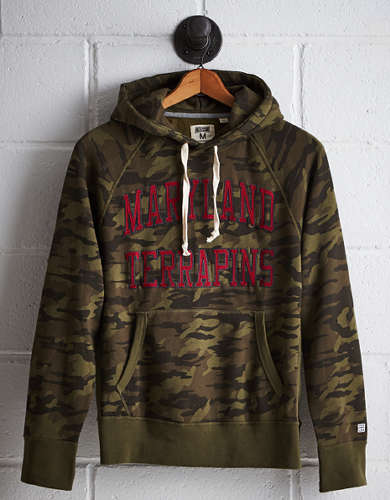 Tailgate Men's Maryland Camo Hoodie - Free Shipping + Free Returns