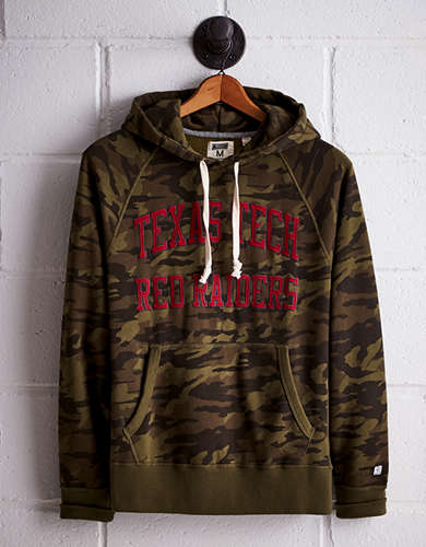 Tailgate Men's Texas Tech Camo Hoodie - Free Returns