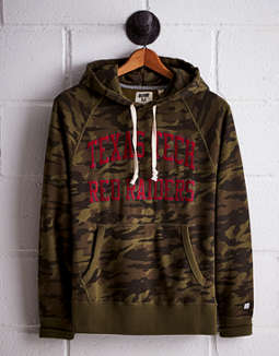 Tailgate Men's Texas Tech Camo Hoodie