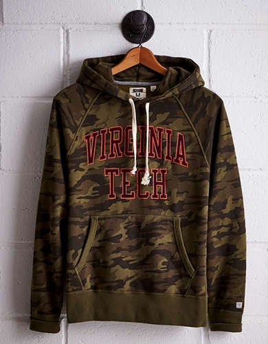 Tailgate Men's Virginia Tech Camo Hoodie - Buy One Get One 50% Off