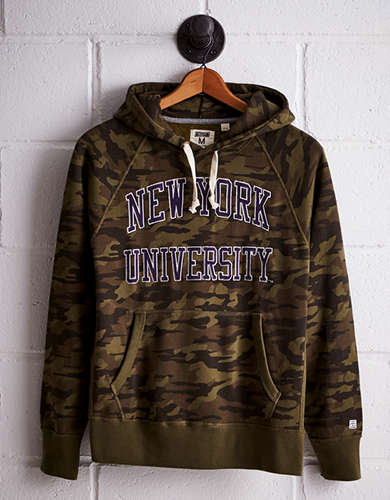Tailgate Men's NYU Camo Hoodie - Free Returns