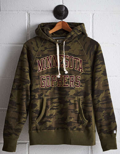 Tailgate Men's Minnesota Camo Hoodie - Free Returns