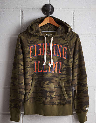 Tailgate Men's Illinois Camo Hoodie - Free returns