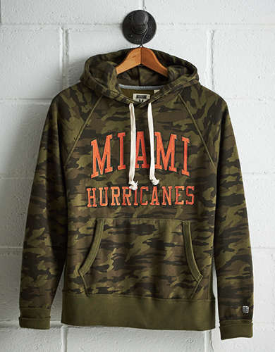 Tailgate Men's Miami Camo Hoodie - Free Returns