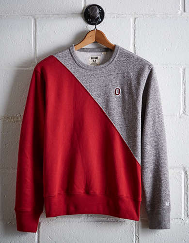 Tailgate Men's OSU Diagonal Colorblock Sweatshirt - Buy One Get One 50% Off