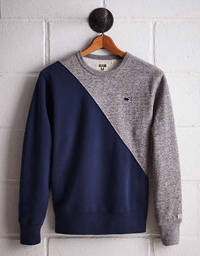 Tailgate Men's PSU Diagonal Colorblock Sweatshirt - Buy One Get One 50% Off