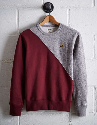 Tailgate Men's ASU Colorblock Sweatshirt - Free Returns