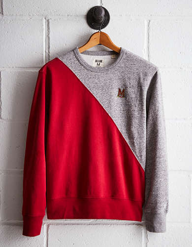 Tailgate Men's Maryland Colorblock Sweatshirt - Free Returns
