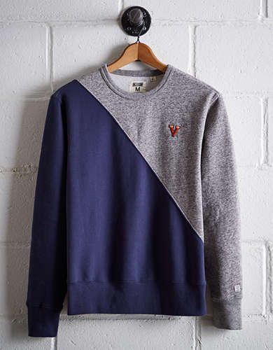 Tailgate Men's UVA Colorblock Sweatshirt - Free returns