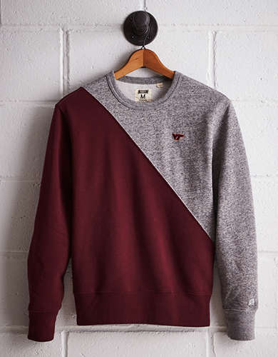 Tailgate Men's Virginia Tech Colorblock Sweatshirt - Buy One Get One 50% Off