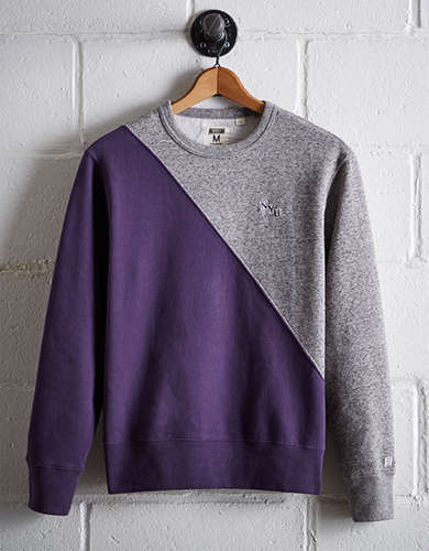 Tailgate Men's NYU Colorblock Sweatshirt - Free returns