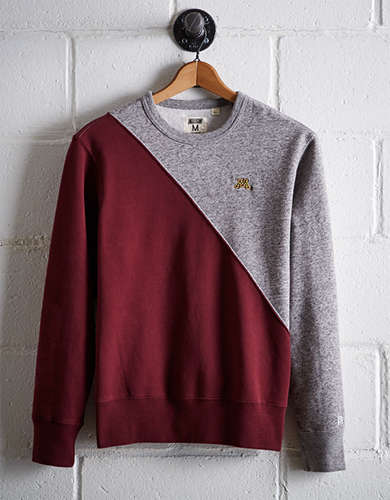 Tailgate Men's Minnesota Colorblock Sweatshirt - Free Returns