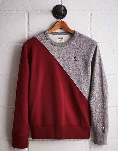 Tailgate Men's Stanford Colorblock Sweatshirt - Free Returns