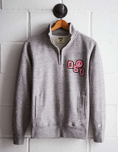 Tailgate Men's Ohio State Half-Zip Fleece Popover - Free Returns