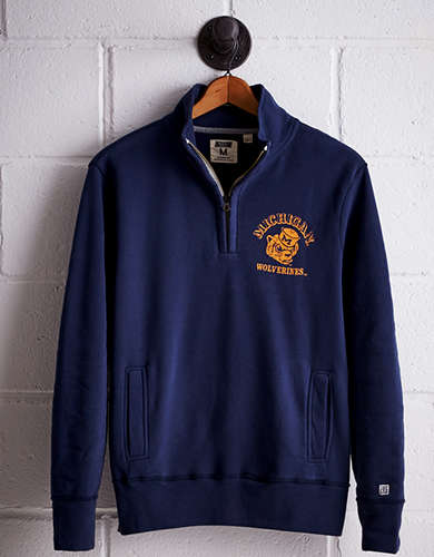 Tailgate Men's Michigan Half-Zip Fleece Popover - Buy One Get One 50% Off