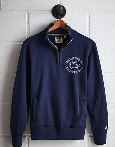 Tailgate Men's PSU Half-Zip Fleece Popover - Free Returns