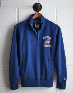 Tailgate Men's Florida Half-Zip Fleece Popover