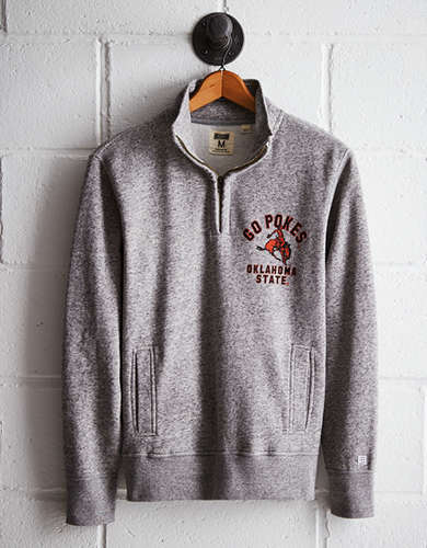 Tailgate Men's Oklahoma State Half-Zip Fleece Popover - Buy One Get One 50% Off