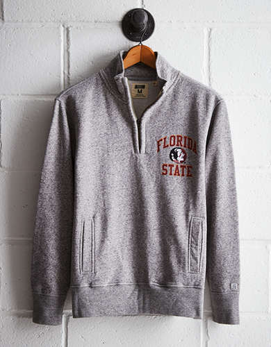Tailgate Men's FSU Half-Zip Fleece Popover - Free Returns