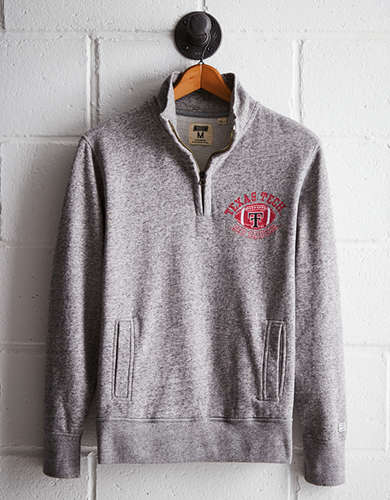 Tailgate Men's Texas Tech Half-Zip Fleece Popover - Free returns