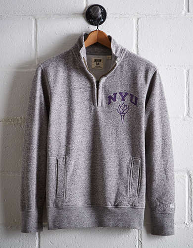 Tailgate Men's NYU Half-Zip Fleece Popover - Free returns