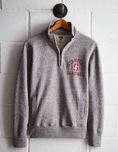 Tailgate Men's Stanford Half-Zip Fleece Popover - Free Returns