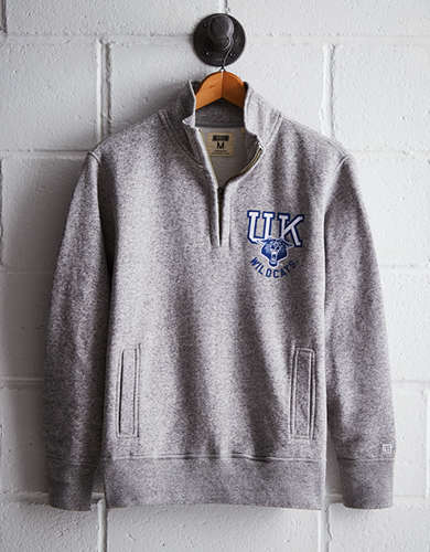 Tailgate Men's Kentucky Half-Zip Fleece Popover - Free Returns
