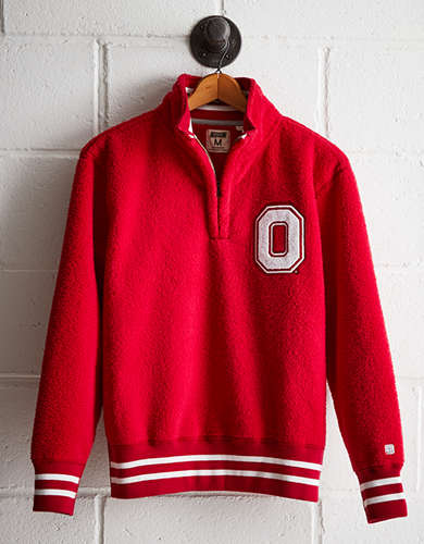 Tailgate Men's OSU Sherpa Fleece Half-Zip - Buy One Get One 50% Off