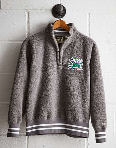 Tailgate Men's Notre Dame Sherpa Fleece Half-Zip - Free shipping & returns with purchase of NBA item