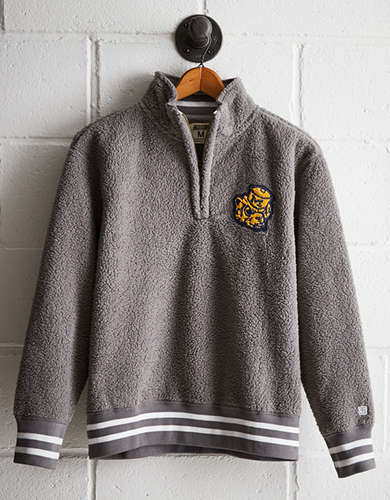 Tailgate Men's Michigan Sherpa Fleece Half-Zip - Buy One Get One 50% Off