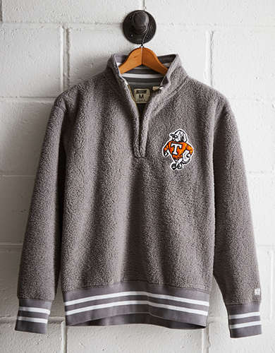 Tailgate Men's Tennessee Sherpa Fleece Half-Zip - Free returns