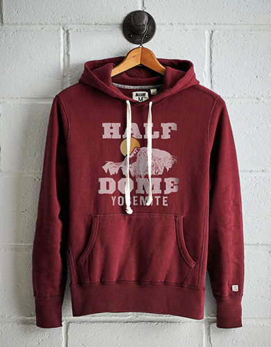 Tailgate Men's Half Dome Yosemite Fleece Hoodie - Free Returns