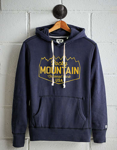 Tailgate Men's Rocky Mountain Fleece Hoodie - Free Returns