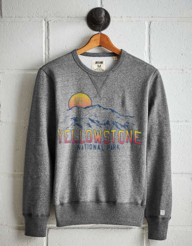 Tailgate Men's Yellowstone Fleece Sweatshirt - Free Returns