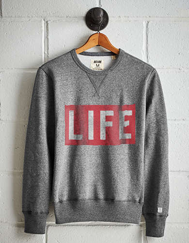 Tailgate Men's LIFE Fleece Sweatshirt - Free Returns